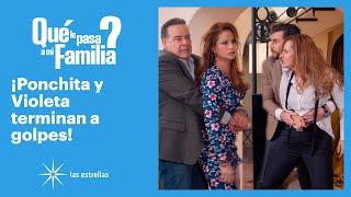 ¿Qué le pasa a mi familia?: Ponchita pone en su lugar a Violeta | C-79 | Las Estrellas