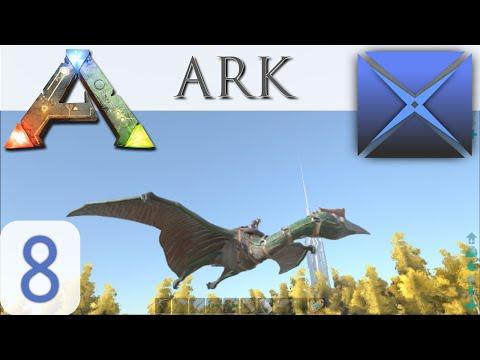 ARK: Survival Evolved ( DinoRealm ): SOLO QUETZAL TAME! S02 E08 ( Gameplay )