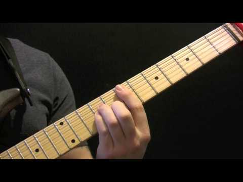 Late In The Day Guitar Tutorial by Supergrass