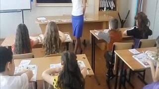 видеофрагмент урока английского языка 1 класс Попова Л  А