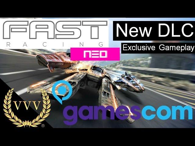 Fast Racing Neo   Exclusive DLC Gameplay Gamescom 2016