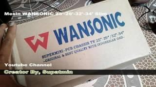 Penampakan Mesin TV Wansonic Slim untuk 25-29-32-34 Inch