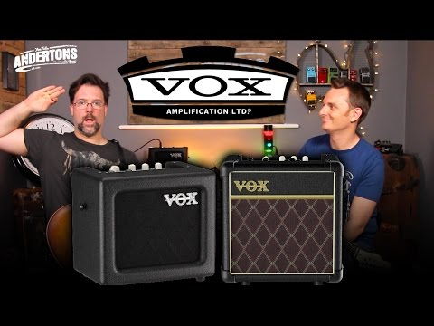 Vox Mini Amps - Battery Powered Guitar Amp Goodness!!