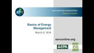 Esrc Sustainable Business Training Series