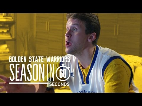 Golden State Warriors Fans | Season in 60 Seconds