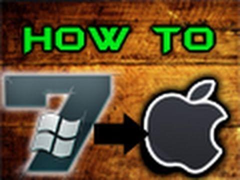 How To Transform Windows 7 Into Mac OS X Snow Leopard! (My Original Tutorial)
