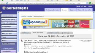 My Math Lab Demo (created December 9, 2005)