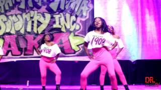 Alpha Kappa Alpha - Beta Psi Chapter - Homecoming Greek Show (2016)