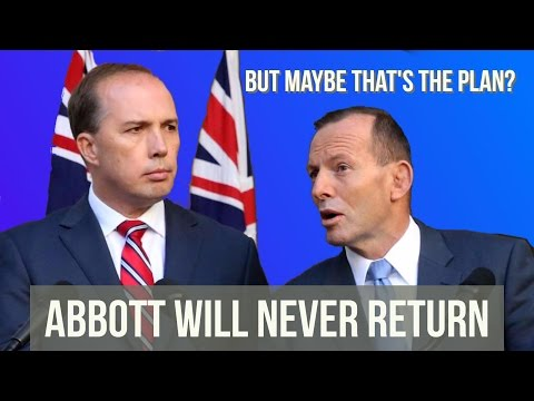 Why Tony Abbott is undermining Malcolm Turnbull