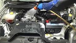 moottorin pesu