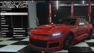 GTA 5 - DLC Vehicle Customization (Vapid Dominator GTX) and Review