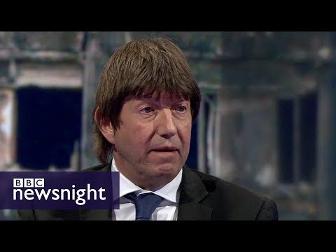 Fire test data held by private companies: Lord Porter - BBC Newsnight