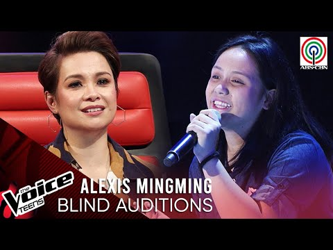 Alexis Mingming - Magasin | Blind Audition | The Voice Teens Philippines 2020