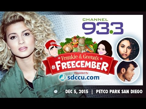WE OUT HERE: FREECEMBER CONCER! TORI KELLY, ALESSIA CARA AND MAX SCHNEIDER