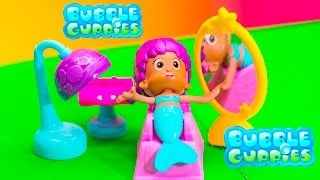 BUBBLE GUPPIES Nickelodeon Salon and Style Little Charmers Video Toys Unboxing