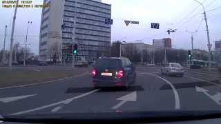 Проезд перекрёстка с круговым движением