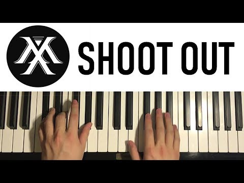 HOW TO PLAY - MONSTA X - Shoot Out (Piano Tutorial Lesson)