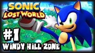 Sonic Lost World - (1080p) - Part 1 Windy Hill Zone