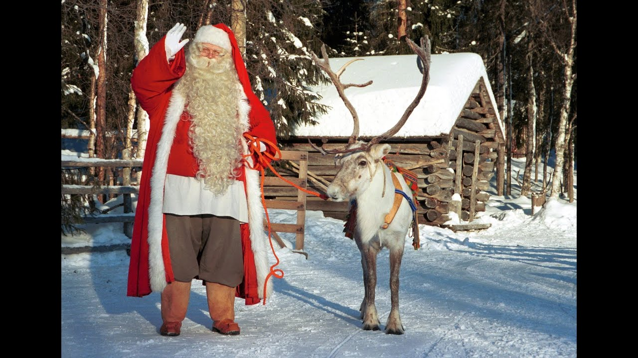 Lapônia Do Papai Noel Pai Natal Vídeo Para As Famílias Finlandia Rovaniemi Santa Claus Mensagem