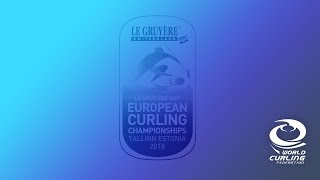 The Le Gruyère AOP European Curling Championships 2018