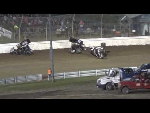 Skagit Speedway, Dirt Cup 2017, Night 2, ASCS National Series B-Main 1 and 2