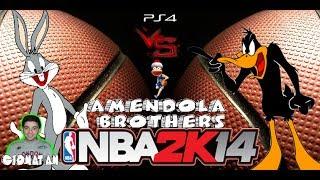PC - NBA 2k14 : Bugs Bunny VS Daffy Duck [Gameplay Ita]