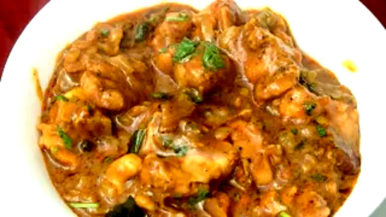 recipes in tamil How to Make Chicken Gravy Red Pix Good Life - YouTube