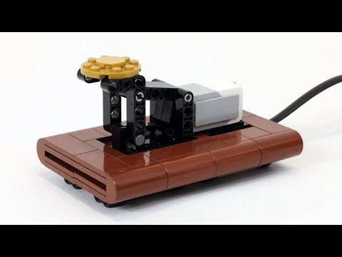 Working LEGO Telegraph