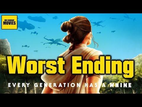 Worst Star Wars Trilogy Ending? - The Rise Of Skywalker Spoiler Review
