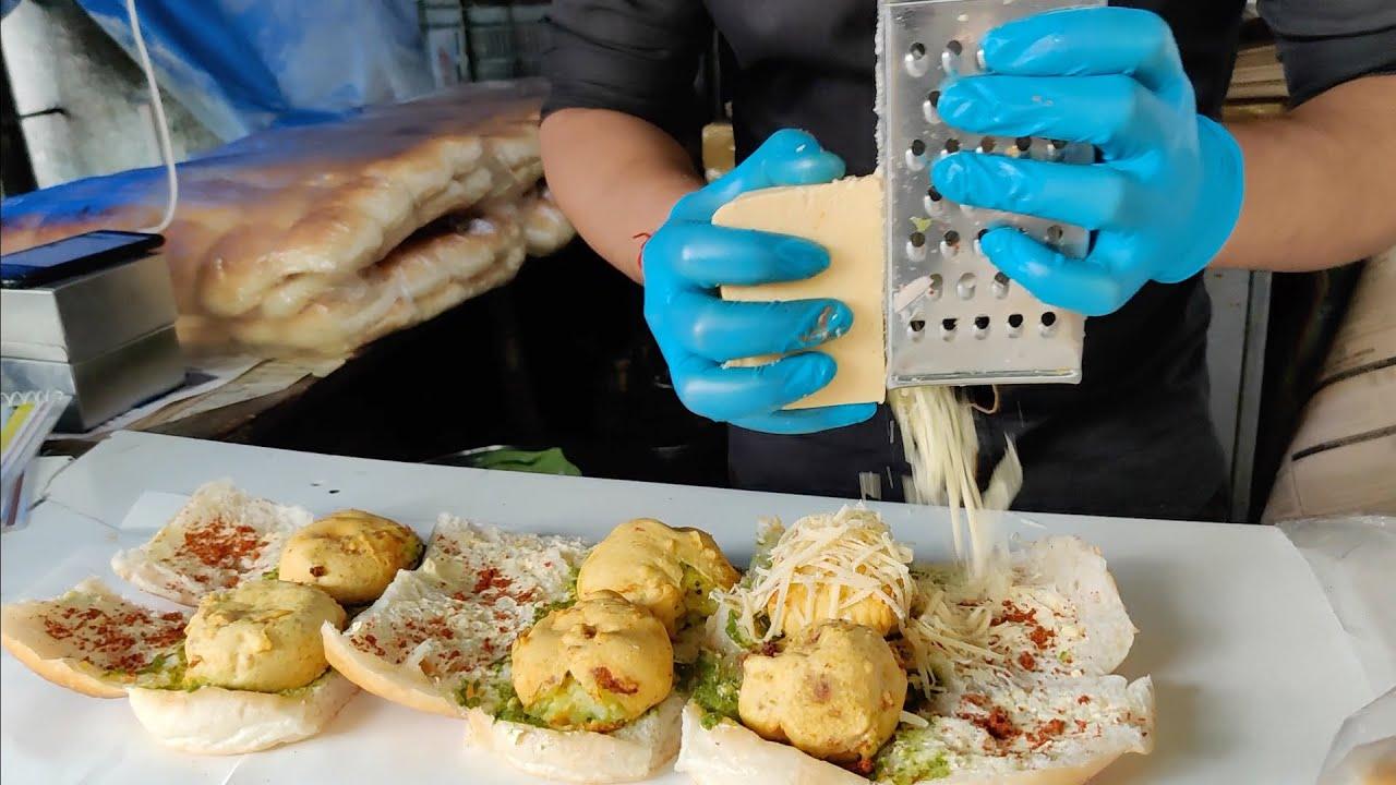 Mumbai's Famous Vada Pav after Lockdown   Cheese Butter Vadapav   Indian Street Food