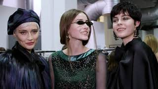 Emporio Armani Women's FW20-21 Fashion Show - Backstage Video