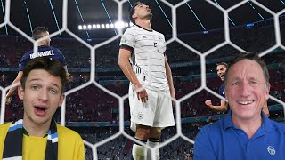 FRANCE 1-0 GERMANY REACTION HIGHLIGHTS - EURO 2020