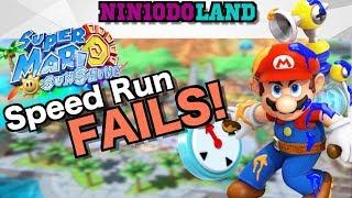 GREATEST Mario Sunshine Speedrun EVER!!! [Super Mario Sunshine] [Funny]
