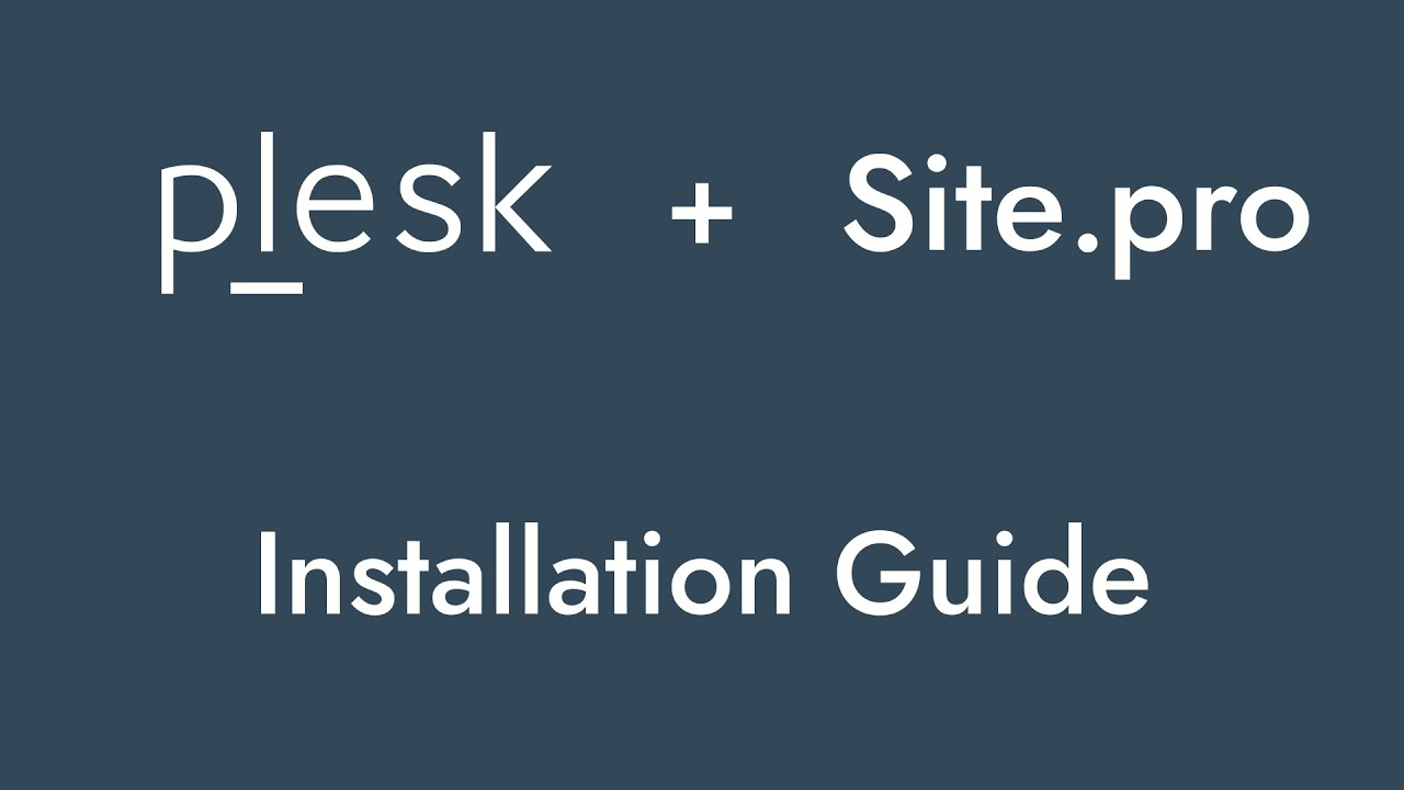 Plesk — Ideal Website Builder for Your Plesk