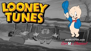 Looney Tunes de dibujos animados Clásicos: Boom Boom (Porky Pig) (1935) (HD)