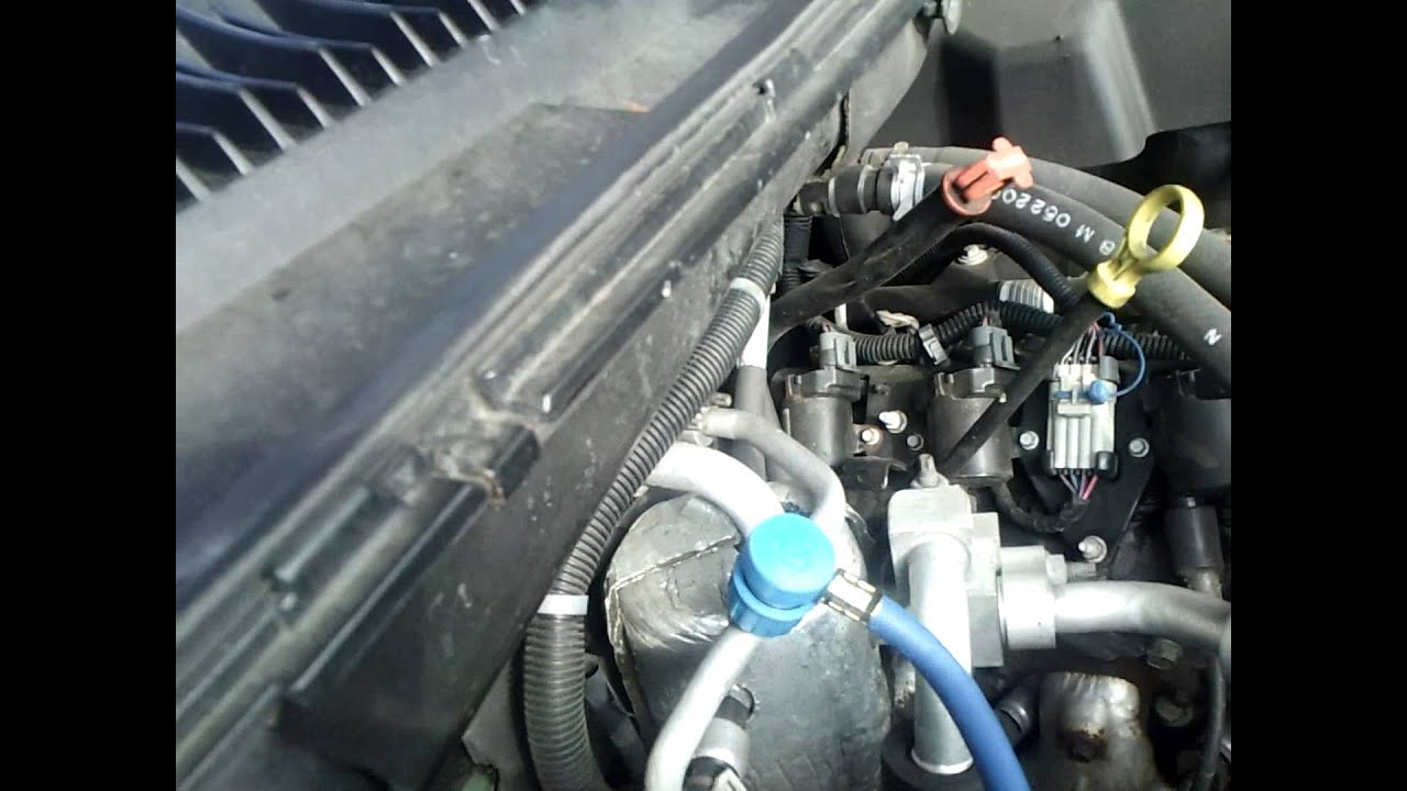 Recharging the AC in a 2000 Chevy Suburban: Part 1  YouTube