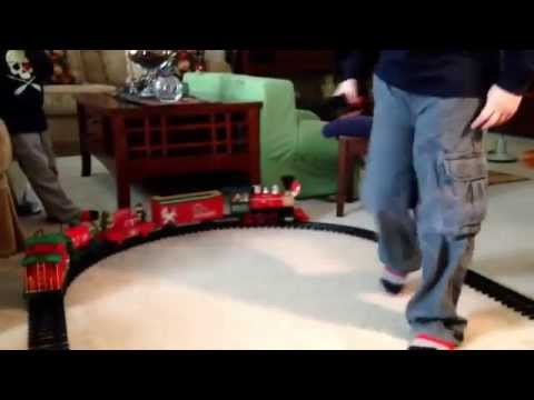 North Pole express train set by eztec