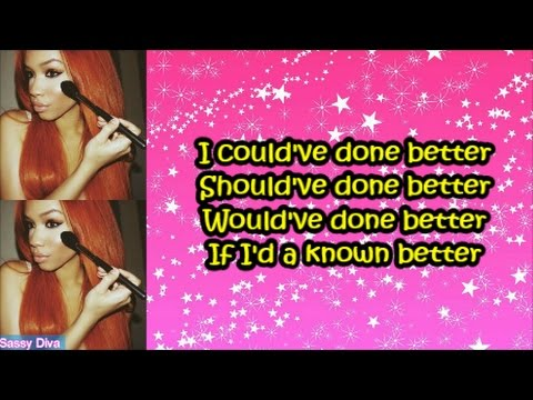 Kyndall - Shoulda Coulda Woulda (Lyrics)