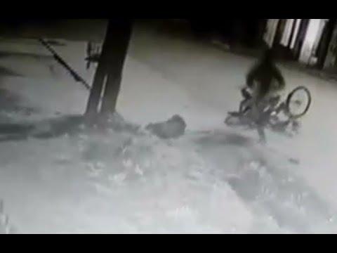 Un delivery golpeó al ladrón y terminó preso