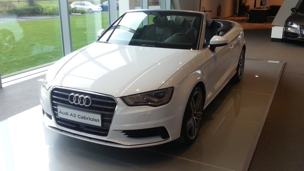 audi a3 cabriolet 2015 in depth review interior exterior. Black Bedroom Furniture Sets. Home Design Ideas