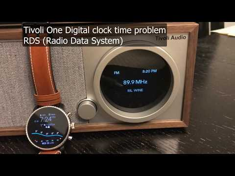 Wrong time on Tivoli RDS time clock, Model One Digital FM