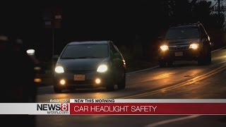 Why you have trouble seeing while driving at night