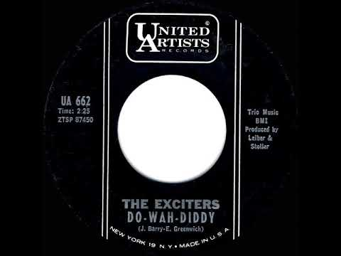 1st RECORDING OF: Do Wah Diddy Diddy - Exciters (1963)