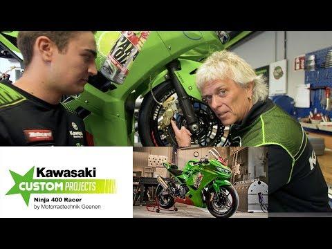 Kawasaki Custom Projects: Ninja 400 Mit 80 PS Bei 125 Kg