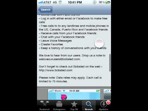 How To Get FREE Unlimited Calling For Your IDevice! (NO JAI