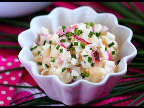 Крабовый салат из крабовых палочек пошаговый рецепт с