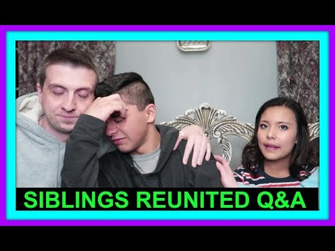 BIRTH SIBLINGS REUNITED Q&A | FOSTER CARE AND ADOPTION STORY