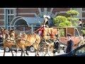 10年ぶり復活!! 東京駅から宮内庁の馬車列が皇居へ!!The horse-drawn carriage  head…