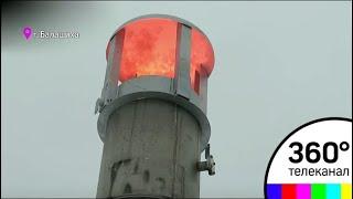 На полигоне Кучино пробурили 25 скважин для дегазации и зажгли первый факел