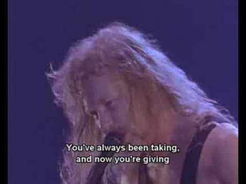 Metallica - Seek & Destroy With Subtitles Seattle 89
